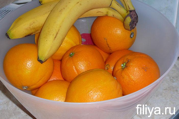 Апельсиновые цукаты на масле