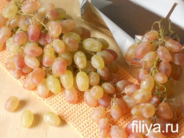 Как сделать виноград в шоколаде