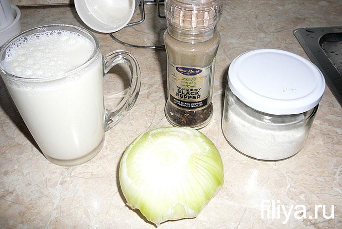 Приготовление воздушного пюре на молоке
